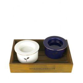 Electric Oil Burner (Blue)